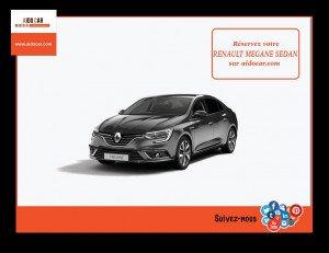 location renault megane 4 sedan casablanca