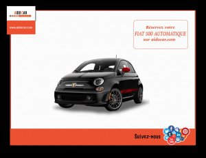 location fiat 500 casablanca