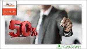 promotion voiture de location -50